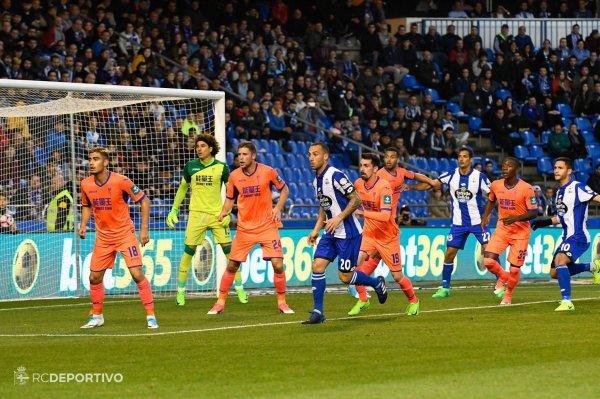 El Deportivo no ha podido ganar contra el Granada al empatar sobre el estadio de Riazor