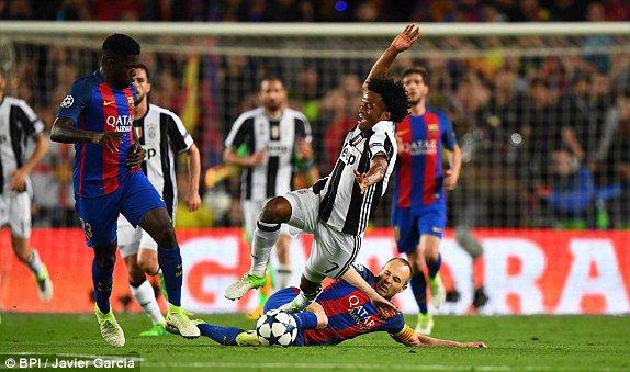 Quelle exploit de la Juventus qui a validé sa qualification en faisant un nul à Barcelone.