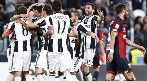 La Juventus a remporté une victoire très efficace à domicil contre le Genoa.