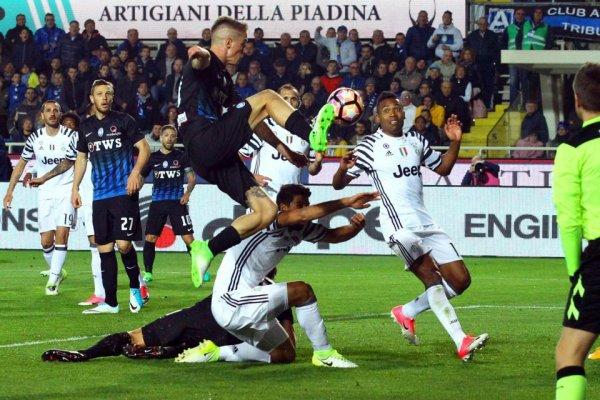 La Juventus s'en sort très bien de son match nul sur la pelouse de l'Atalanta.
