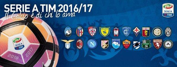 Les résultats finals de la 35 journée de la Série A Tim 2016-2017.