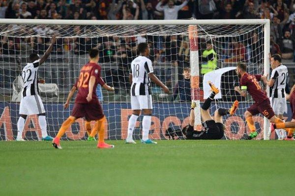 La Juventus a perdu sur la pelouse de la Roma et rate une opportunité pour le titre.