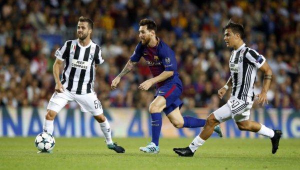 La Juventus s'est incliné lourdement sur la pelouse de Barcelone au Camp Nou.