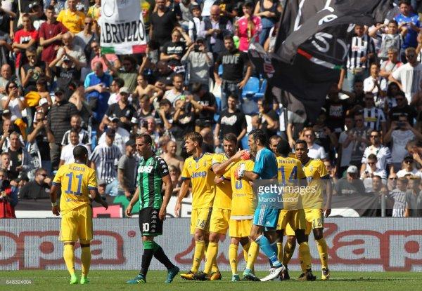 La Juventus a réalisé un belle exploit en s'imposant sur la pelouse de Sassuolo.