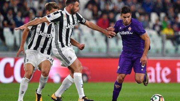 La Juventus s'est imposé difficilement à domicil contre la Fiorentina.