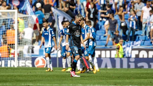 El Deportivo recibio un duro castigo al caer derrotado sobre el campo del Espanyol.