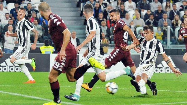 La Juventus a obtenu une victoire explosif à domicile contre le Torino pour le derby.