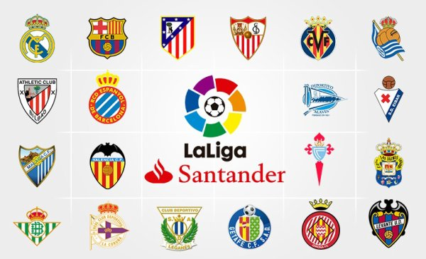 Les résultats pour le moment de la 8 journées de la Liga Santander 2017-2018.