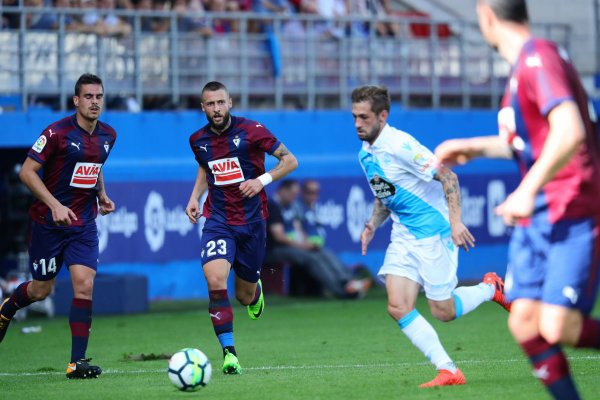 El Deportivo logro un punto valioso de su visita sobre el campo del Eibar.