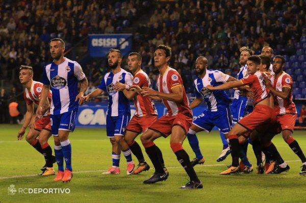 El Deportivo esta en plena crisis de resultado con una derrota injusta contra el Girona.