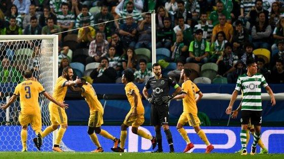 Les résultats pour le moment de la 4 journée de la Ligue des Champions 2017-2018.