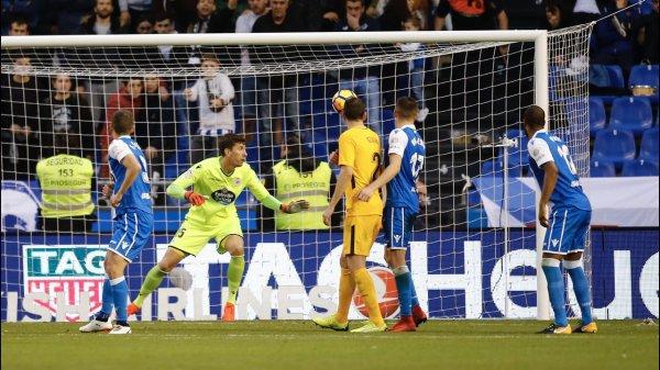 El Deportivo no merecio de perder en su proprio campo injustamente contra el Altético.