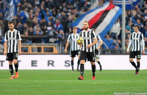 La Juventus a trébuché au mauvais moment en perdant sur la pelouse de la Sampdoria.