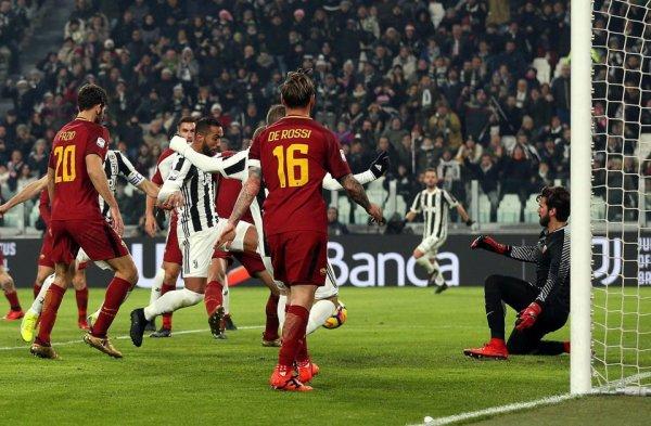 La Juventus a obtenue une victoire souffrante à domicile contre l'équipe de la Roma.