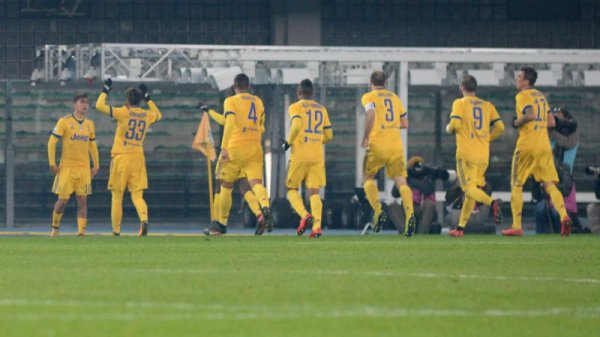 La Juventus a obtenue une victoire difficile sur la pelouse de l'Hellas Verona.