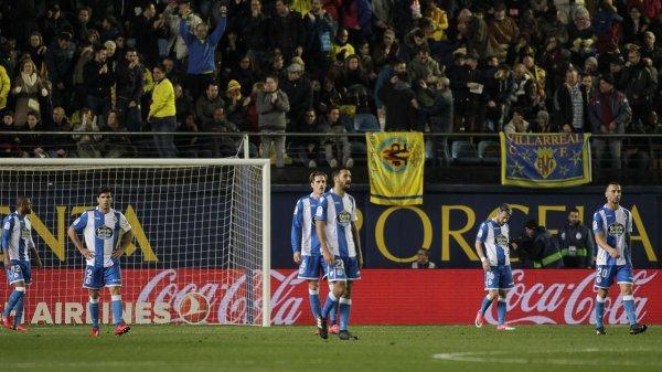El Deportivo logro un punto valioso tras empatar en el campo del Villarreal.