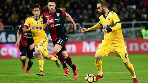 La Juventus a obtenue une victoire souffrante et difficile sur la pelouse de Cagliari.