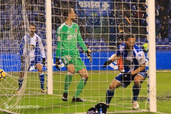El Deportivo cayo injustamente en su campo contra el Valencia no tuvimos la suerte.