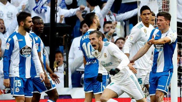 El Deportivo cayo en plena crisis tras ser derrotado sobre el campo del Real Madrid.