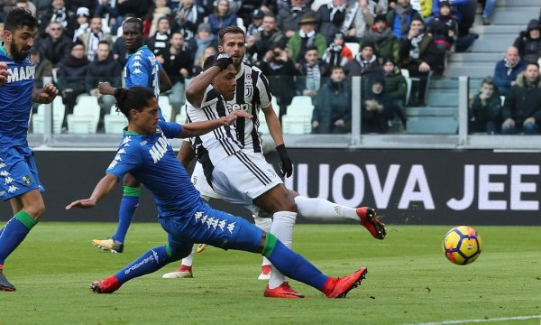 La Juventus s'est vraiment éclaté en s'imposant largement contre Sassuolo.