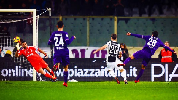 La Juventus a pu remporter une victoire importante sur la pelouse de la Fiorentina.