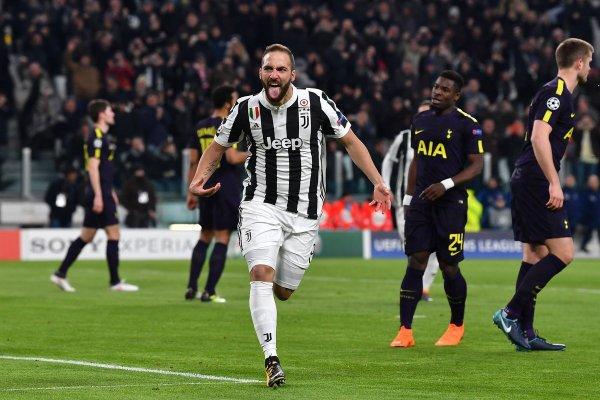 Mauvaise opération de la Juventus qui a été tenu en échec à domicile contre Tottenahm.