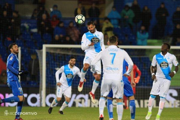 El Deportivo no levanta la cabeza al caer derrotado sobre el campo del Getafe.