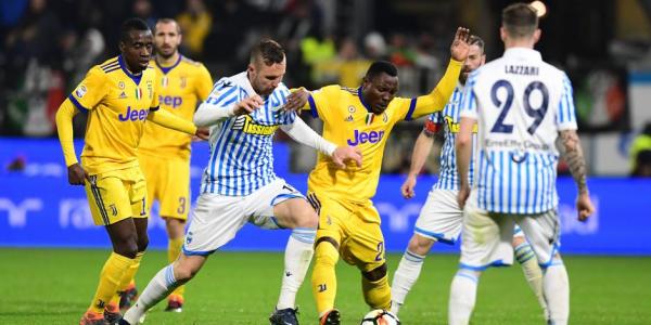 La Juventus n'a pas pu continuer sa bonne série en faisant un match nul à Spal.