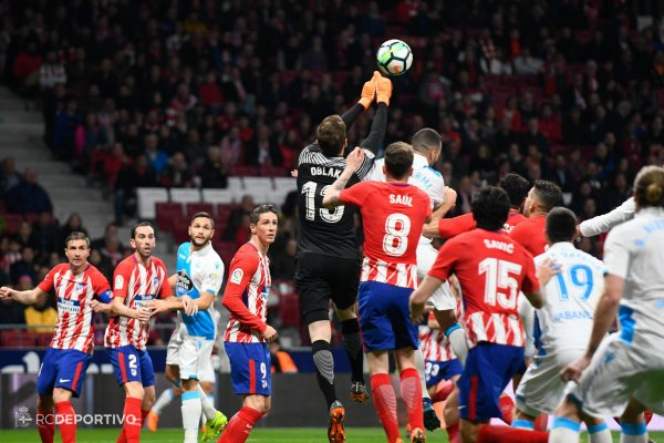 El Deportivo no merecio de perder sobre el campo del Alético de Madrid.