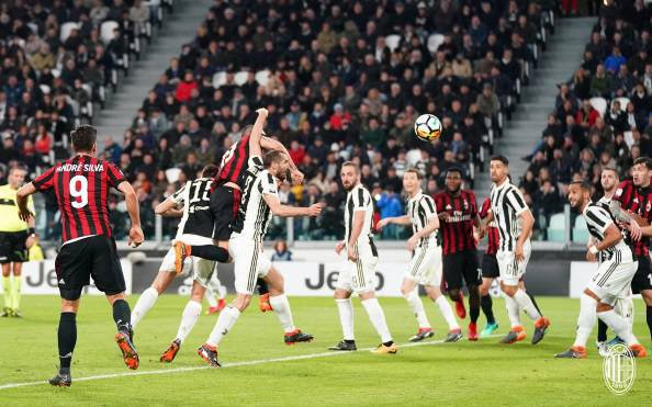 La Juventus a remporté une victoire importante à domicile contre le Milan.