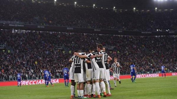 La Juventus s'est imposée facilement à domicile contre la Sampdoria.