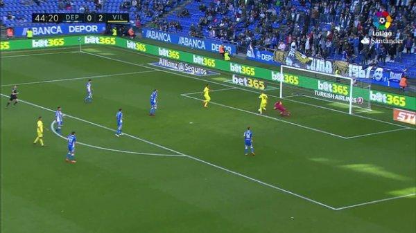 El Deportivo se despidio ante su aficion con una nueva derrota contra el Villarreal.