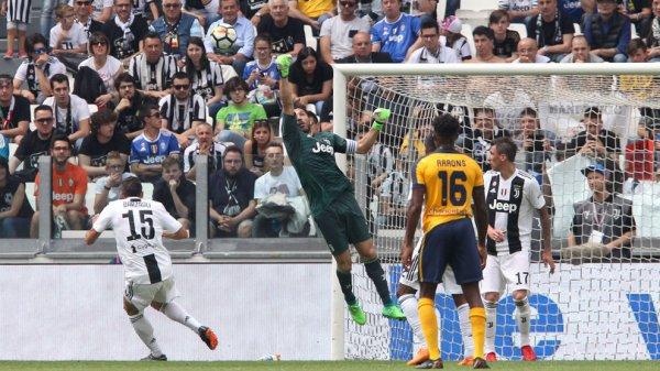 La Juventus a bien conclue la fin de la saison en gagnant à domicile contre Vérone.