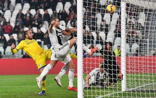 La Juventus a signée une jolie performance en s'imposant à domicile contre Frosinone.