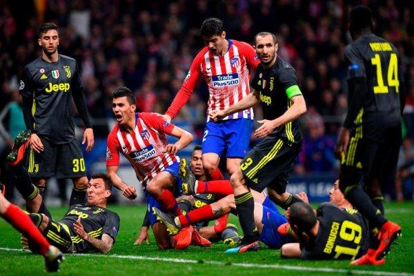 Dure défaite de la Juventus qui se complique pour la qualification en perdant à l'Atlético.