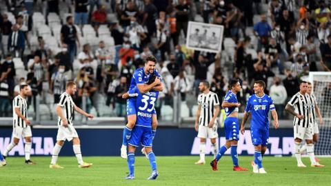 La Juventus s'est inclinée à domicile contre le promue de l'Empoli étonnant.