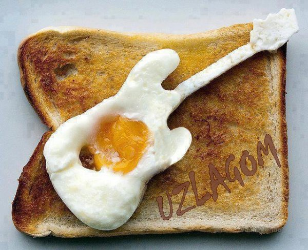 Uzlagom au petit déj ......