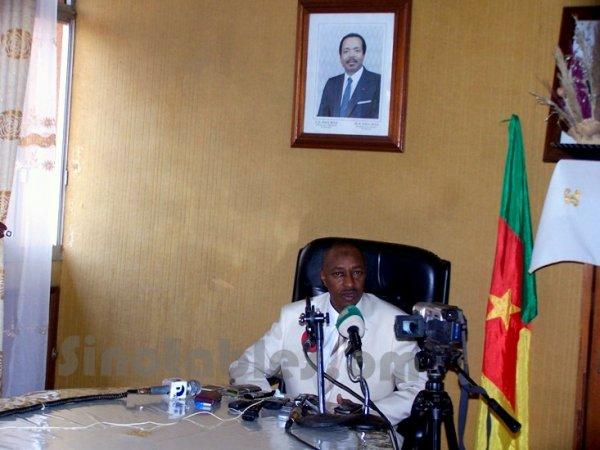 Cameroun : Le gouverneur de l'Ouest a présenté l'état de sa région à la presse