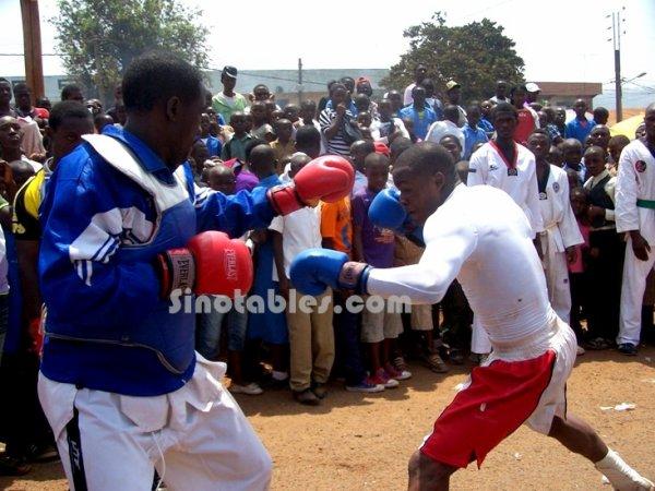 Cameroun-11 février : Avez-vous déjà assisté à un combat entre un boxeur et un pratiquant du Taekwondo ?