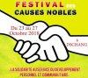Festival des Causes Nobles : ce que vous réserve le programme 2018.