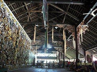 Dayak indigenous Culture broad east kalimantan, version 1