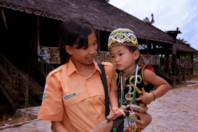 Dayak indigenous Culture broad east kalimantan, version 2