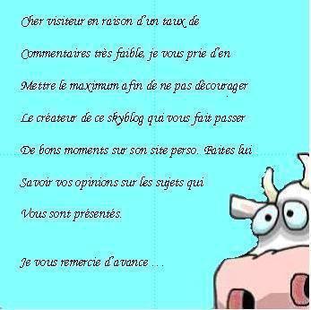 La vache qui dit vrai  :D