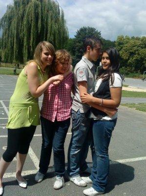 Elisa , Valentin et Marie. ♥