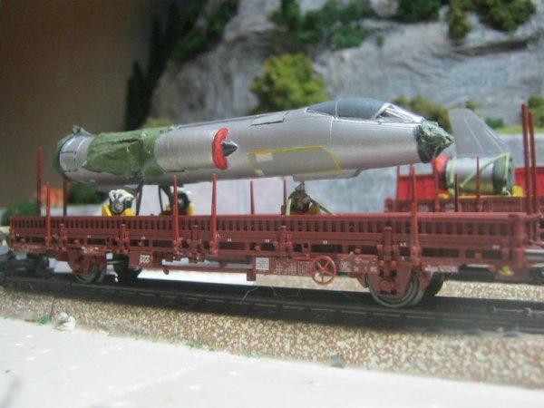 Les bons wagons pour le F-104 sont là