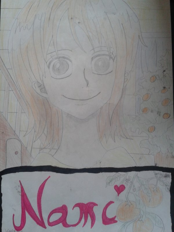 Dessin de Nami (One Piece)