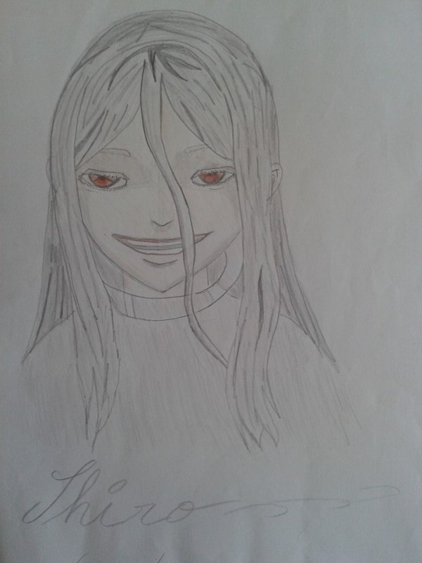 Dessin : Shiro [deadman wonderland]