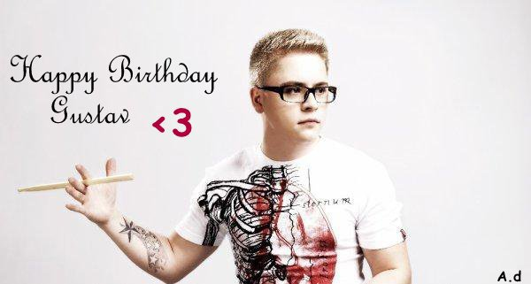Happy Birthday Gustav