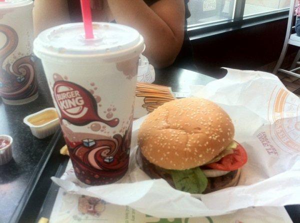 burger réel