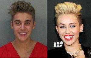 Miley Cyrus sans & avec maquillage *---* xD